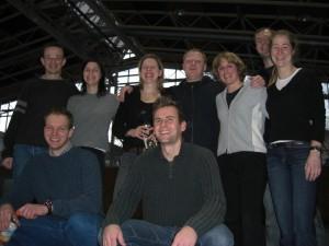 Teamfoto Sauerlach Januar 2008
