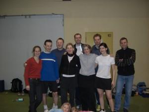 Teamfoto Mixed-DM Leipzig Februar 2008